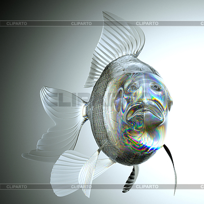 Goldfish stock photos and vektor eps clipart cliparto 6 for Fish with scales and fins