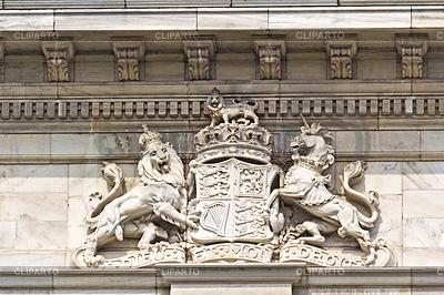 Królewski herb Wielkiej Brytanii | Foto stockowe wysokiej rozdzielczości |ID 4338958