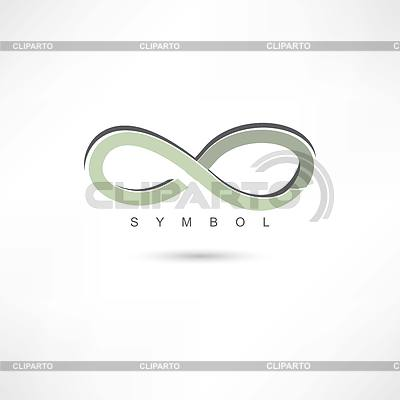Silver infinite symbol | Klipart wektorowy |ID 4133466