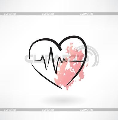 сердце значок: