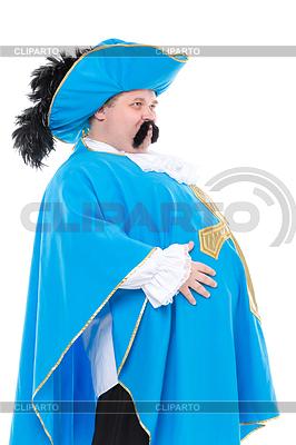Muszkieter w turkusowym mundurze | Foto stockowe wysokiej rozdzielczości |ID 4100006