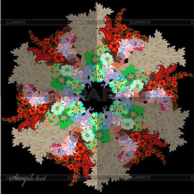 Floral- ilustracji wektorowych | Stockowa ilustracja wysokiej rozdzielczości |ID 4412802