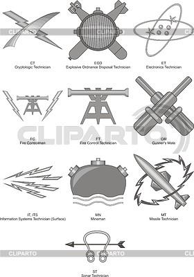 Ocen specjalne US Navy techniczne | Klipart wektorowy |ID 4100899