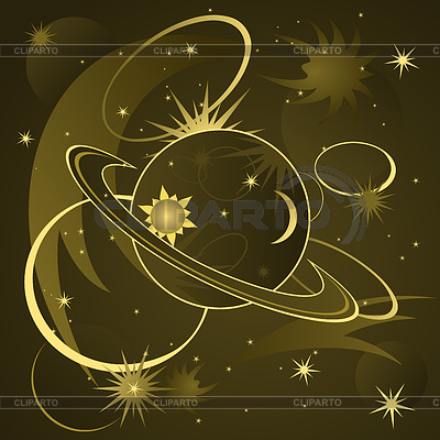 Космос | Векторный клипарт |ID 4093025