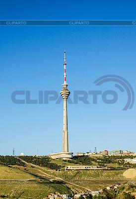 Fernsehturm in Baku Aserbaidschan | Foto mit hoher Auflösung |ID 4318859