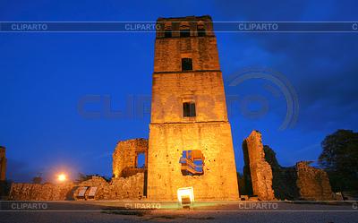 Panama La Vieja, old Spanish city destroyed by | Foto stockowe wysokiej rozdzielczości |ID 4299233