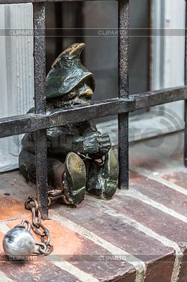 Skulptur von gnome Märchen in Breslau | Foto mit hoher Auflösung |ID 4262268