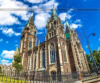 Architektoniczny - Kościół św Olha i | Foto stockowe wysokiej rozdzielczości |ID 4263506