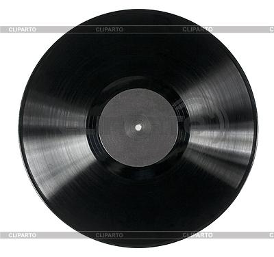 Пластинка виниловая вектор 7