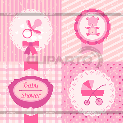 Открытка на baby shower