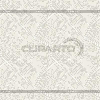 Plan miasta streszczenie bezszwowe tło wzór | Klipart wektorowy |ID 4364619