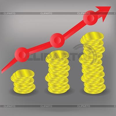 График схема финансовой бар