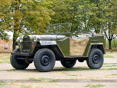 Sowjetischen Militär Automobil Gaz 67 | Foto mit hoher Auflösung |ID 4122798