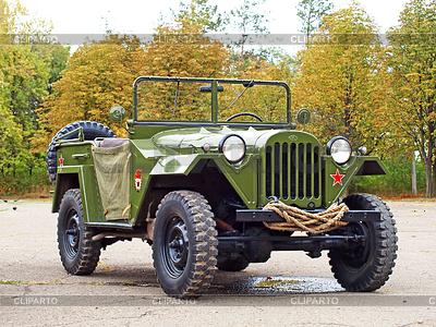 Sowjetischen Militär Automobil Gaz 67 WW | Foto mit hoher Auflösung |ID 4122799