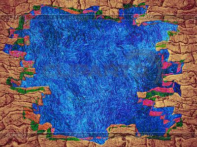 Märchen abstrakten Hintergrund mit blauen Raum und | Illustration mit hoher Auflösung |ID 4142568