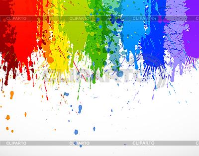 Geschnitte Regenbogen-Streifen | Stock Vektorgrafik |ID 4272836