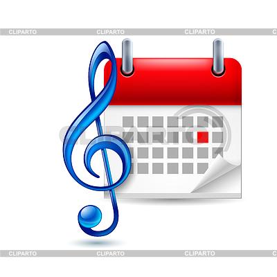 Ikona wydarzenie muzyczne | Klipart wektorowy |ID 4258436