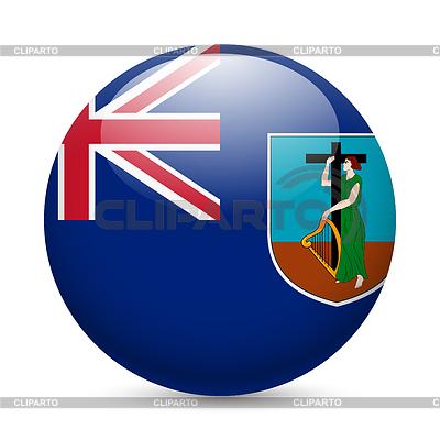 Znaczek w kolorach flagi Montserrat | Klipart wektorowy |ID 4336768