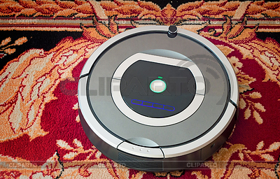 Robotik - automatisierten Roboter-Staubsauger | Foto mit hoher Auflösung |ID 4486259