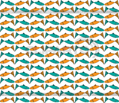 Tło z ryb | Stockowa ilustracja wysokiej rozdzielczości |ID 4120708