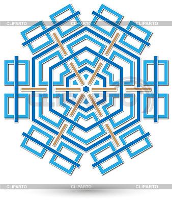 Abstrakcyjny kształt sześciokątny | Stockowa ilustracja wysokiej rozdzielczości |ID 4324688