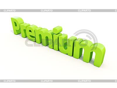 3d Wort Prämie | Illustration mit hoher Auflösung |ID 4228288