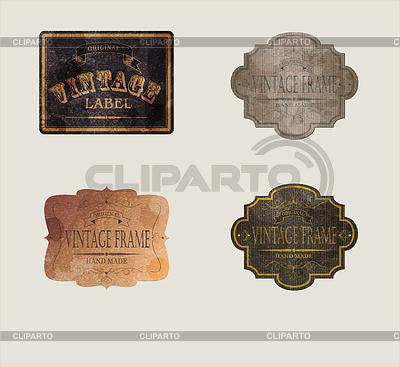 Kommerzielle Etiketten | Stock Vektorgrafik |ID 4355443
