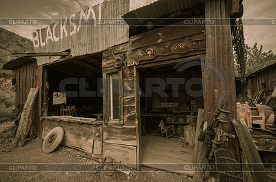 Jerome Arizona Ghost Town Salon | Foto mit hoher Auflösung |ID 4092059