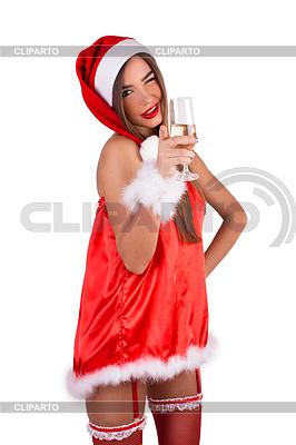 Mädchen bereit für neue Jahr. Und Sie? | Foto mit hoher Auflösung |ID 4103946