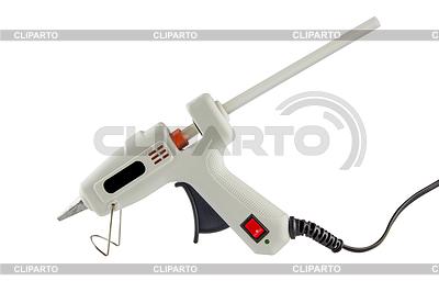 Pistolet z klejem na gorąco pręta | Foto stockowe wysokiej rozdzielczości |ID 4205896