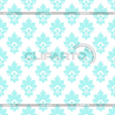 Damast nahtlose mit Blumenelementen | Stock Vektorgrafik |ID 4436759