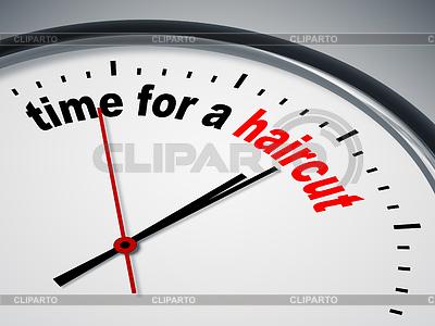 Zeit für Haarschnitt | Illustration mit hoher Auflösung |ID 4145516