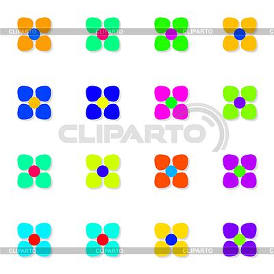 Einfache Blumen   Illustration mit hoher Auflösung  ID 4226772