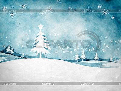 Blue christmas | Stockowa ilustracja wysokiej rozdzielczości |ID 4243629