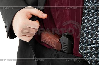Makarov-Pistole in der Hose | Foto mit hoher Auflösung |ID 4254497