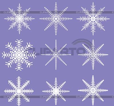 Snowflakes - Ready for Brush Templates | Foto stockowe wysokiej rozdzielczości |ID 4173286