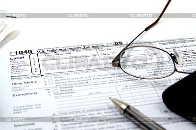 Vorbereiten Steuern | Foto mit hoher Auflösung |ID 4176938