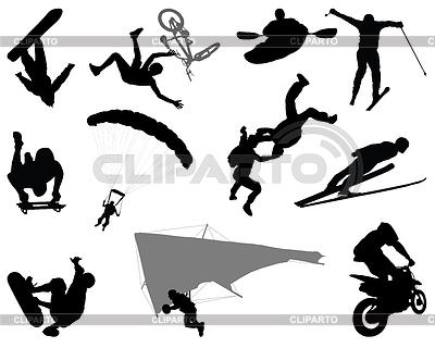 Extremaler Sport | Stock Vektorgrafik |ID 4382052