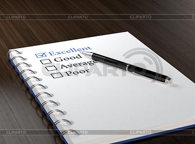 Kontrollliste | Illustration mit hoher Auflösung |ID 4191645