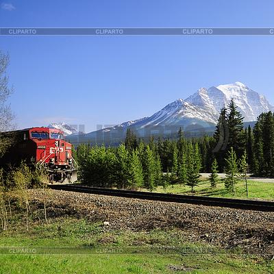 Langer Güterzug. | Foto mit hoher Auflösung |ID 4414321