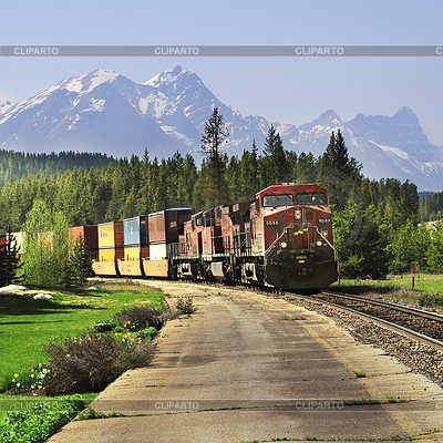 Long freight train. | 높은 해상도 사진 |ID 4414333