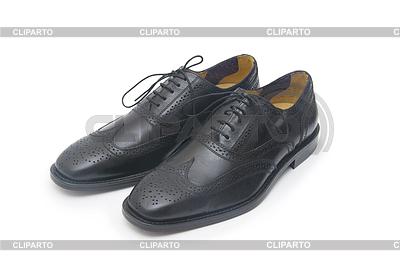 Schwarzen Mann `s Schuhe | Foto mit hoher Auflösung |ID 4331136