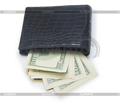 Leather wallet with money | Foto stockowe wysokiej rozdzielczości |ID 4354800