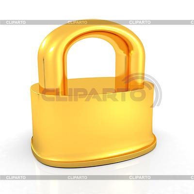 Blokada złota | Stockowa ilustracja wysokiej rozdzielczości |ID 4237608