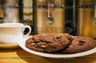 巧克力片饼干 | 高分辨率照片 |ID 4429414