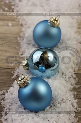 Weihnachtskugel blau | Foto mit hoher Auflösung |ID 4462129