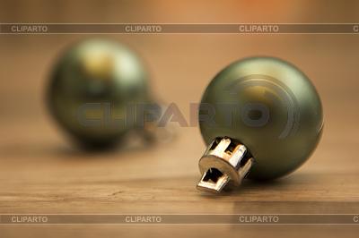 Weihnachtskugeln grün | Foto mit hoher Auflösung |ID 4462157