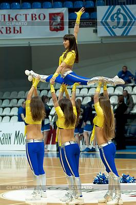 Cheerleaders groupe VIP Tanz | Foto mit hoher Auflösung |ID 4342518