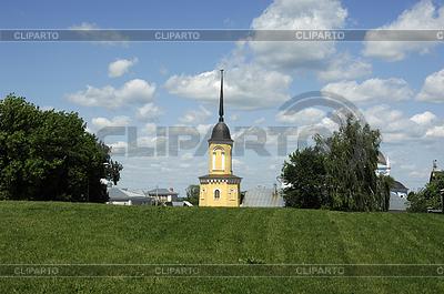 Mała cerkiew w starożytnym mieście Colomna, | Foto stockowe wysokiej rozdzielczości |ID 4342757