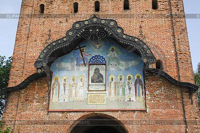 Mała cerkiew w starożytnym mieście Colomna, | Foto stockowe wysokiej rozdzielczości |ID 4342760